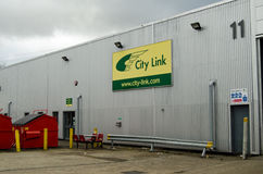Stadt-Link Basingstoke-Depot Stockfoto