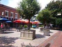 Stadt-Markt-Savanne Lizenzfreies Stockfoto
