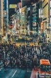 Stadt-Menge Lizenzfreies Stockfoto