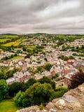 Stadt mit einer Ansicht Lizenzfreie Stockfotos