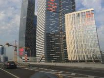 Stadt Moskaus, Bezirk Moskau, Architektur, Himmel, Haus Lizenzfreie Stockbilder