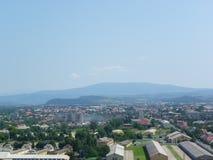 Stadt Mukachevo, Ukraine Stockbild