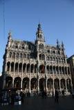 Stadt-Museum von Brüssel auf dem großartigen Platz Lizenzfreie Stockfotos