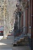 Stadt-Nachbarschaft Lizenzfreie Stockfotos