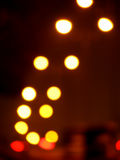 Stadt-Nacht Stockbild