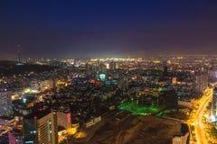 Stadt nachts Lizenzfreies Stockbild