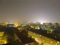 Stadt nachts Lizenzfreies Stockfoto