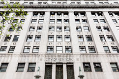 Stadt- New Yorkregierungs-Gebäude Stockfoto