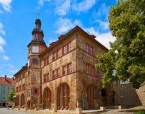 Stadt Nordhausen Rathaus Thuringia Germany. Stadt Nordhausen Rathaus city hall in Thuringia Germany Stock Photos