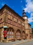 Stadt Nordhausen Rathaus Thuringia Germany. Stadt Nordhausen Rathaus city hall in Thuringia Germany Royalty Free Stock Image