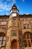 Stadt Nordhausen Rathaus Thuringia Germany. Stadt Nordhausen Rathaus city hall in Thuringia Germany Royalty Free Stock Images