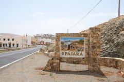 Stadt Pajara, Fuerteventura, Spanien Lizenzfreie Stockbilder