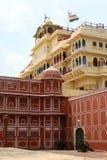 Stadt-Palast, Jaipur Lizenzfreies Stockbild