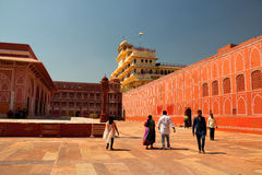 Stadt-Palast in Jaipur Lizenzfreie Stockfotografie
