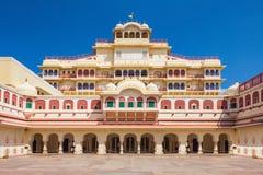 Stadt-Palast in Jaipur Stockbilder
