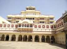 Stadt-Palast Jaipur Stockfotos