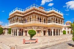 Stadt-Palast in Jaipur Lizenzfreies Stockfoto