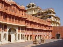 Stadt-Palast, Jaipur, Indien Stockfoto