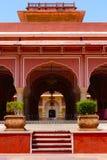 Stadt-Palast Sarvatobhadra/Diwan-E-Khas-, Jaipur Stockfoto