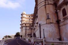 Stadt-Palast, Udaipur Lizenzfreies Stockbild
