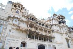Stadt-Palast Udaipur Lizenzfreies Stockfoto