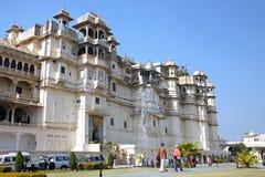 Stadt-Palast in Udaipur, Indien Lizenzfreie Stockbilder