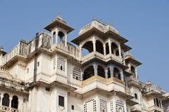 Stadt-Palast in Udaipur, Indien Stockbild