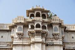 Stadt-Palast in Udaipur, Indien Stockbilder