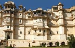 Stadt-Palast, Udaipur, Indien Stockfotos