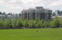 Stadt-Park Stockbilder