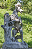 Stadt park dog statue in Graz, Austria Stock Images