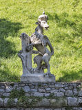 Stadt park dog statue in Graz, Austria Stock Photography