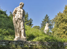 Stadt park man statues in Graz, Austria Stock Photo
