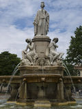 Stadt-Park in Nimes Frankreich Stockbilder