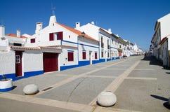 Stadt Porto-Covo Lizenzfreies Stockfoto