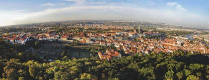 Stadt Pragua auf Tschechisch Stockfoto