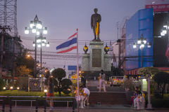 STADT-PRINZ PRAJAK MONUMENT THAILANDS ISAN UDON THANI stockfotos
