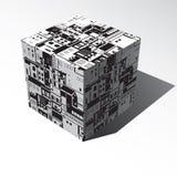 Stadt Rauminhalt berechnet vektor abbildung
