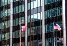 Stadt-Reflexionen Stockfoto