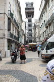 Stadt-Reise Lissabons Portugal Lizenzfreie Stockfotos