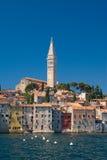 Stadt Rovinj, Kroatien Stockfotografie