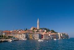 Stadt Rovinj, Kroatien lizenzfreie stockfotos