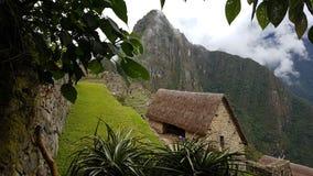Stadt ruiniert machupichu Peru Lizenzfreies Stockbild