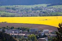 Stadt Ruzomberok, Slowakei Lizenzfreie Stockbilder