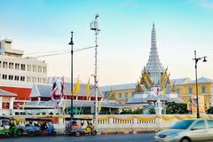 Stadt-Säulen-Schrein-LAK Muang in Bangkok, Thailand lizenzfreie stockfotos