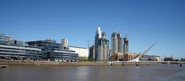 Stadt scape nach Buenos Aires Lizenzfreie Stockfotografie