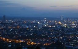 Stadt scape in Thailand Lizenzfreie Stockbilder