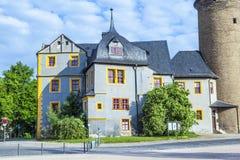 Stadt-Schloss von Weimar in Deutschland Stockfotos