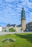 Stadt-Schloss von Weimar in Deutschland Lizenzfreies Stockbild
