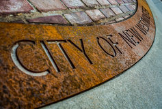 Stadt Signage Lizenzfreie Stockfotos